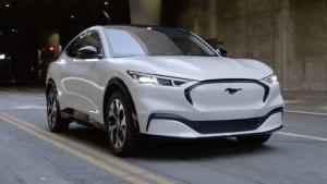 Der neue Ford Mustang Mach-E in Kürze