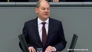 "Bundesfinanzminister Scholz: ""Vor uns liegen harte Wochen!"""