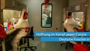 Coronavirus - Deutsche Forscher finden Hemmstoff