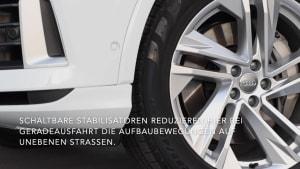 Der Audi Q7 - Sportlich auf der Straße, stark im Gelände - das Fahrwerk