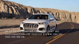 Der Audi Q7 - Mild-Hybrid-Technologie in Serie - der Antrieb
