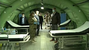 Rumänien: Militär-Krankenhaus für Covid-19-Patienten