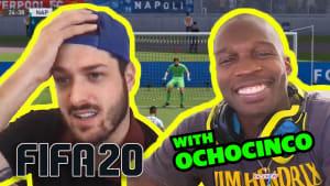 FIFA 20 with Chad Ochocinco