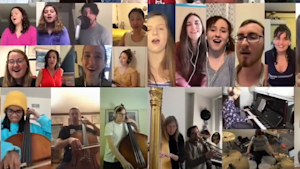 Berklee students play 'What the World Needs Now'
