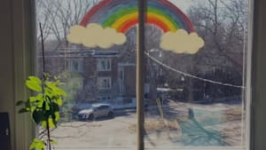 Quebecers Unite Behind Rainbow Hashtag To Spread Hope During Pandemic
