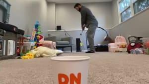 Epic indoor tricks shots direct result of lockdown