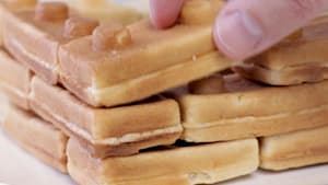 Transform your waffles into Lego bricks