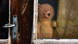 Nachbarn begeistern Kinder mit lustiger Teddy-Schnitzeljagd am Fenster