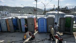 Griechenland: Erster Corona-Fall in Flüchtlingslager
