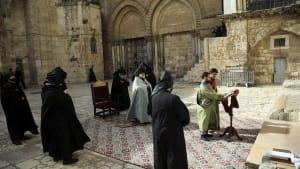 Jerusalem: Grabeskirche wegen Sars-Cov-2 geschlossen
