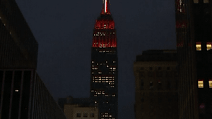 Empire State Building honors first responders