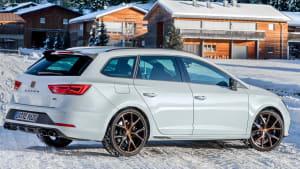 Cupra Snow Experience 2020 - Spaß auf Eis und Schnee