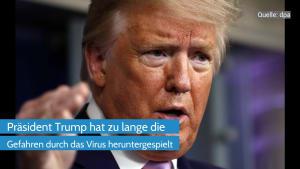 Coronavirus: Trump unter Druck