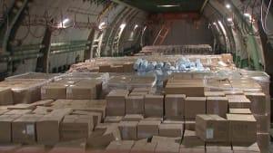 """Covid19: Russland schickt """"Rosinenbomber"""" nach New York"""