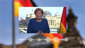 Bundeskanzlerin Merkel: Kontaktbeschränkungen dürfen nicht zu früh aufgehoben werden!