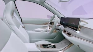 BMW Concept i4 - Das Interieur - Innovation meets Minimalism