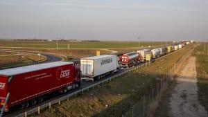 Speditionsbranche sieht Entspannung an EU-Binnengrenzen
