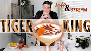 Sip and stream: Tiger King cocktail