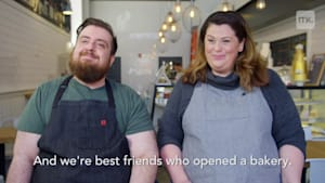 Best friends quit their jobs to open a bakery