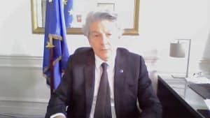 """Thierry Breton: """"Kein Land wird in dieser Krise allein gelassen werden"""""""
