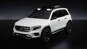 Mercedes-Benz Concept GLB - SUV-Gene gekonnt betont: das Exterieurdesign