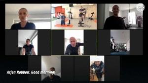 Training trotz Coronavirus-Krise - Profi-Sportler halten sich fit