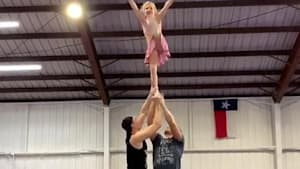Little girl does spectacular flip in air