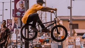 BMX is taking over Lagos, Nigeria