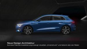 Der neue Audi A3 Sportback - Design Animation