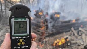 Tschernobyl: Erhöhte Radioaktivitätswerte nach Waldbrand