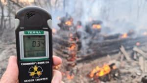Wegen Waldbrand: Radioaktivität um Tschernobyl deutlich erhöht