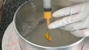 Baker creates mesmerizing 3D gelatin flowers