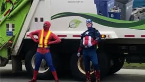 Superhero 'grime' fighters clean up the streets