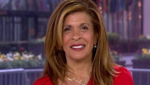 Hoda shares how she is staying positive
