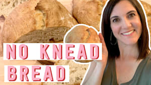 The key to making no-knead bread