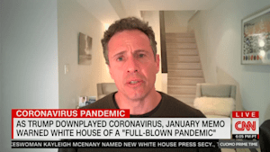 Chris Cuomo goes on rant about Trump's 'bullsh*t'