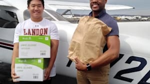 Teen pilot flies medical supplies to hospitals
