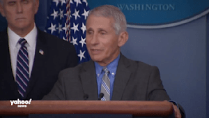 Fauci calls conspiracy theories of inflated death numbers 'distractions'
