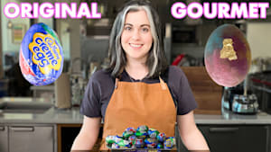 Pastry Chef Attempts to Make Gourmet Cadbury Creme Eggs