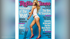 Jessica Simpson parodies her 2003 'Housewife of the Year' cover