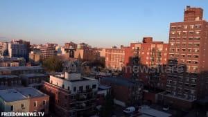 New York neighbourhood claps and cheers for coronavirus workers