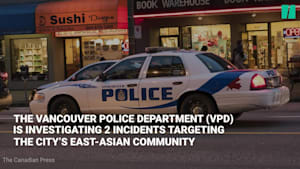 Vancouver Police See Surge In Hate Crimes Against East Asians