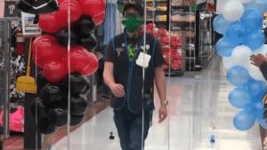 High school grads get makeshift ceremony in local Walmart