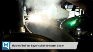 Rückruf bei Brauerei aus Bayern wegen ungewöhnlicher Gefahr