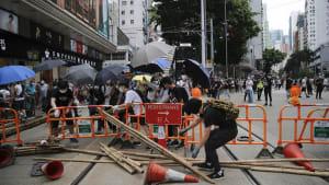 Tränengas und Festnahmen bei Protesten in Hongkong