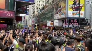 Hongkong: Proteste flammen wieder auf