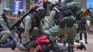 120 Festnahmen in Hongkong: USA drohen China mit Sanktionen