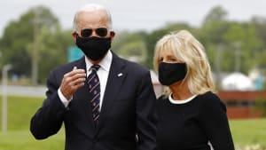 Mit oder ohne Maske? Joe Biden (77) trägt sie, Donald Trump (73) nicht