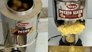 Potato chips are made using these innovative machines