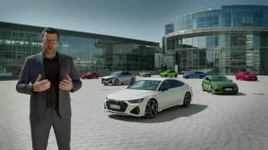 Oliver Hoffmann über die Audi RS Modelle